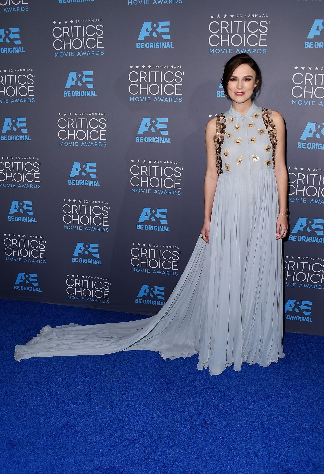 Keira Knightley – 2015 Critics Choice Movie Awards in Los Angeles