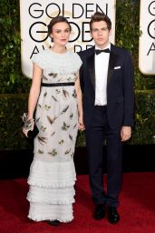 Keira Knightley – 2015 Golden Globe Awards in Beverly Hills