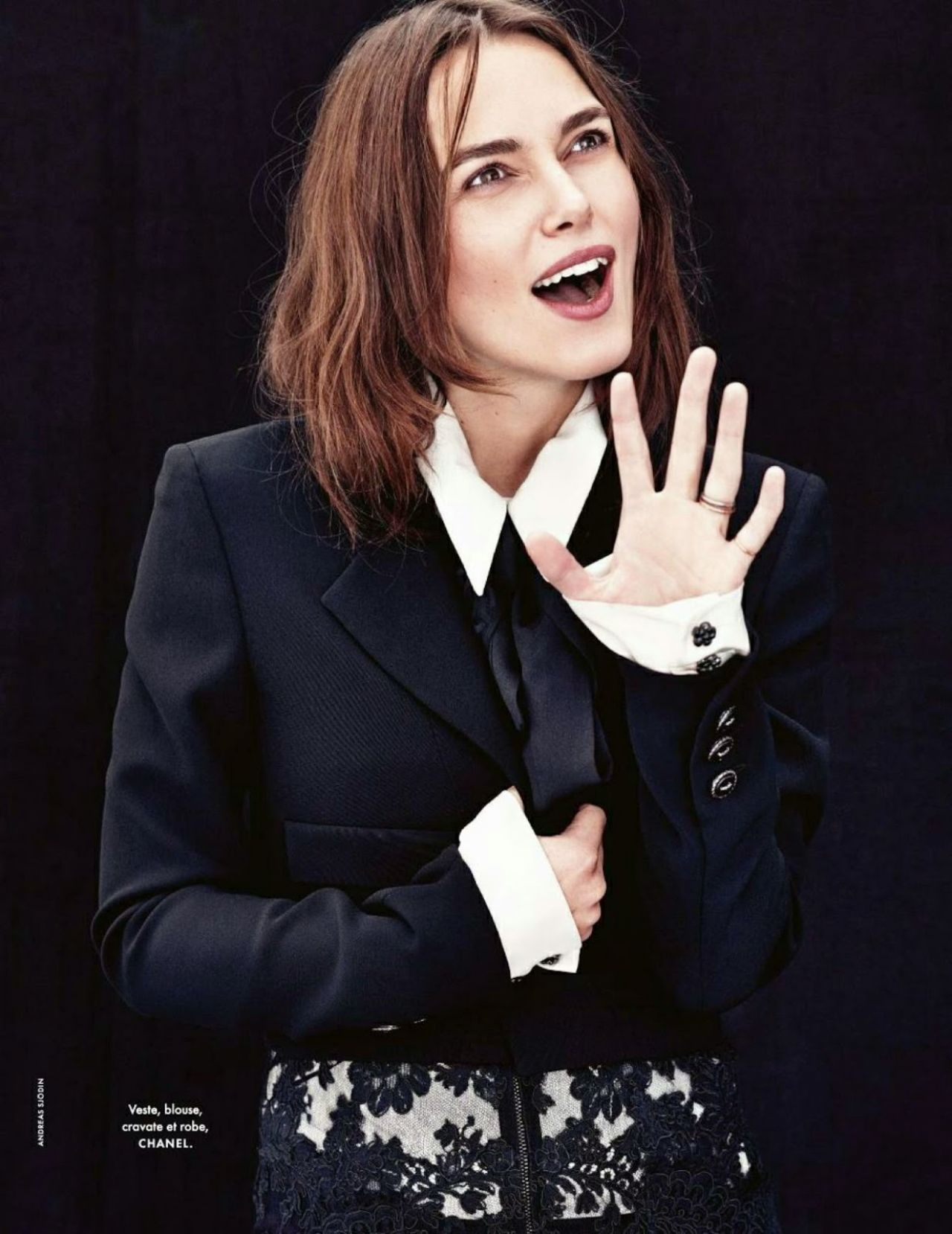 Keira Knightley - Elle Magazine (France) January 2015 Issue