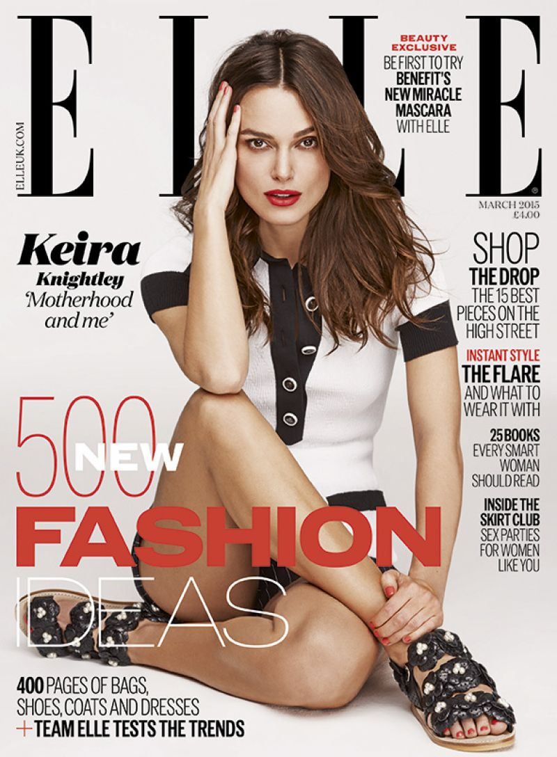 Keira Knightley - Elle Magazine (UK) March 2015 Issue
