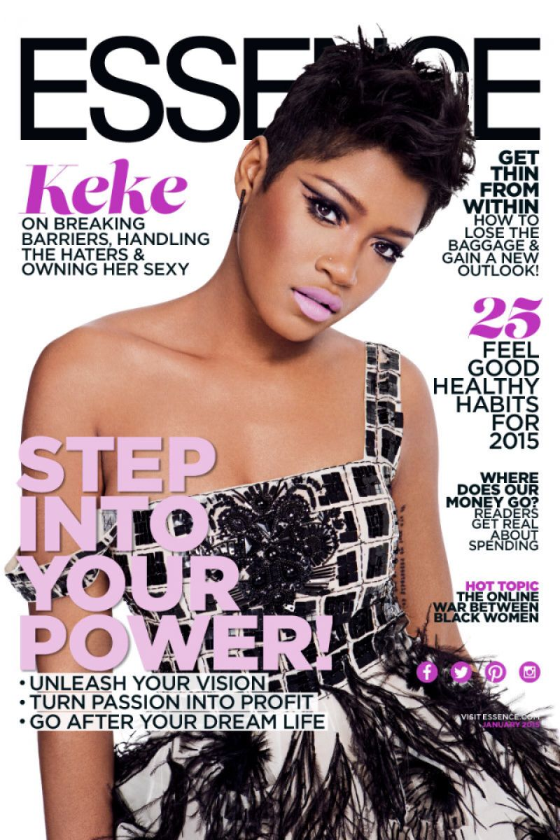 Keke Palmer - Essence Magazine January 2015 Issue