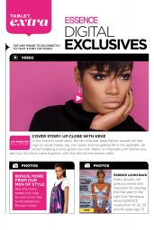 Keke Palmer - Essence Magazine January 2015 Issue