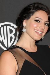 Kelly Brook – InStyle And Warner Bros 2015 Golden Globes Party