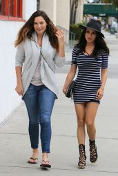 Kelly Brook & Natalie Loren - Shopping for Art Supplies in Los Angeles, Jan. 2015