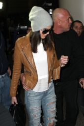 Kendall Jenner at LAX Airport, Jan. 2015