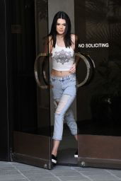 Kendall Jenner Candid Photoshoot - Los Angeles, January 2015