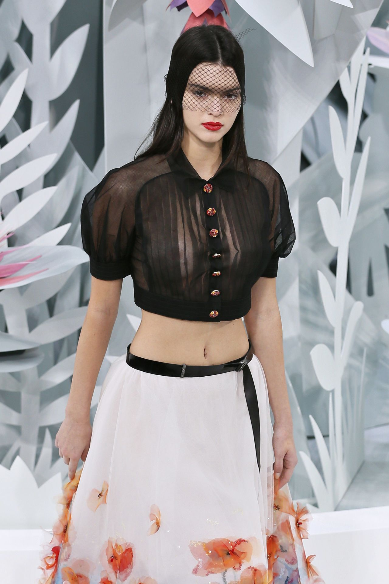 Chanel kendall 2015 jenner fashion show