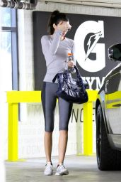 Kendall Jenner in Leggings - Leaving the Gym in Beverly Hills, January 2015
