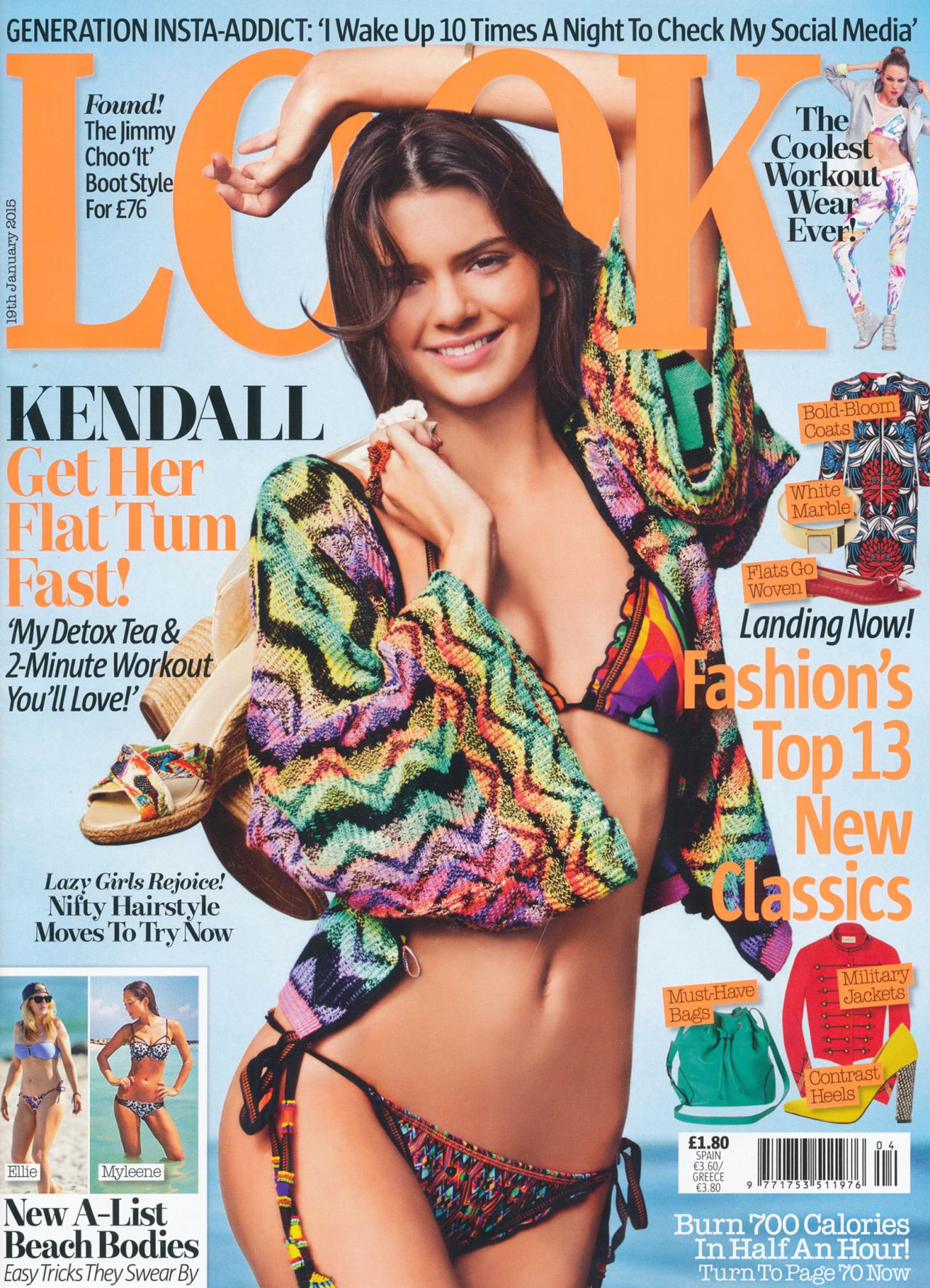 Kendall Jenner - Look Magazine January 19th 2015 Issue