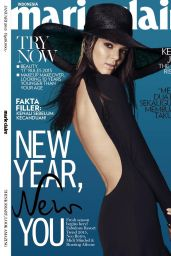 Kendall Jenner - Marie Claire Magazine (Indonesia) January 2015 Cover