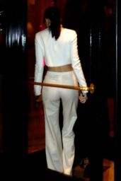 Kendall Jenner Night Out Style - Paris, January 2015