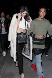 Kendall Jenner Style - Leaving the Staples Center, January 2015