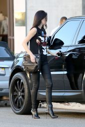 Kendall Jenner Style - Out in Beverly Hills, January 2015