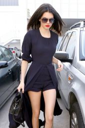 Kendall Jenner Style - Shopping in Beverly Hills - January 2015