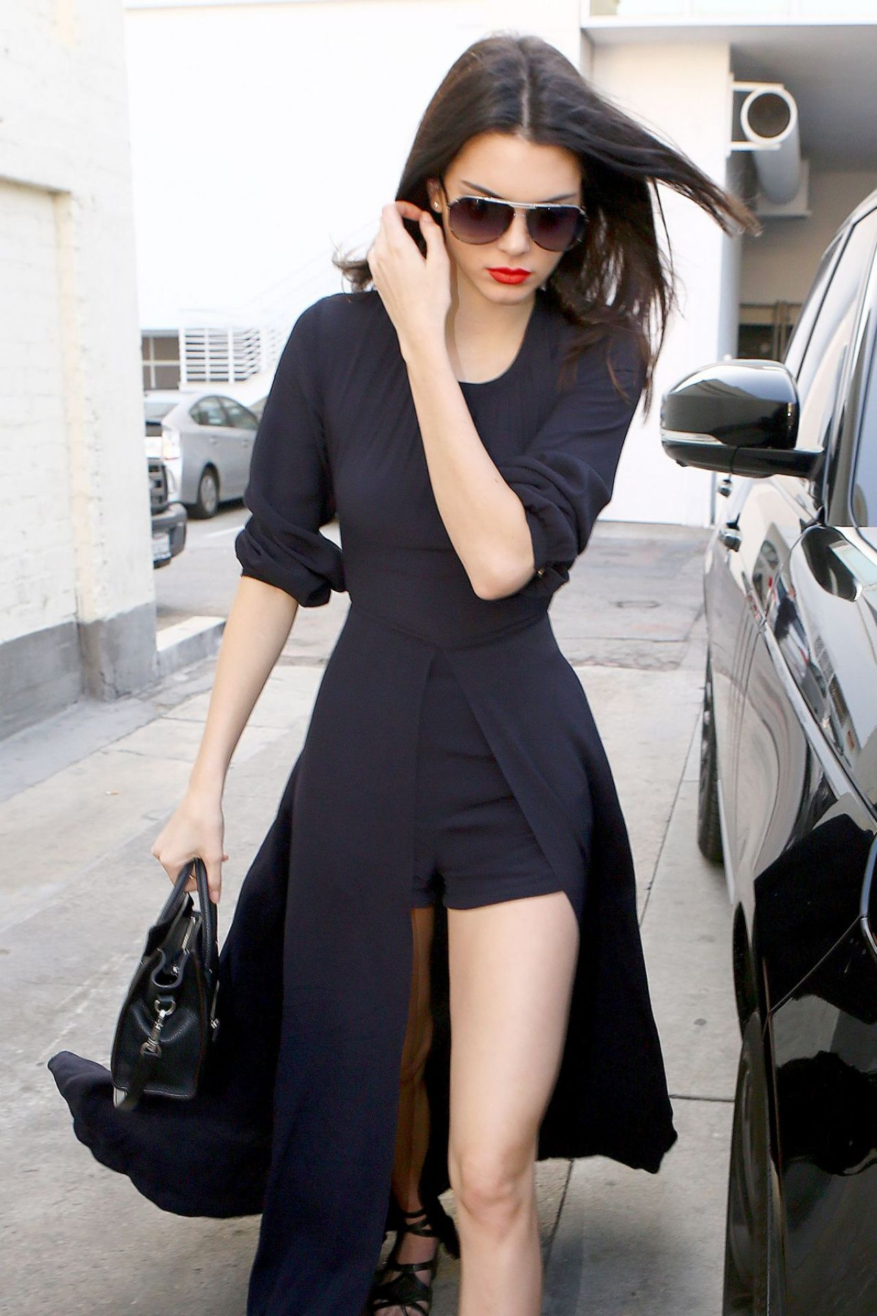 kendall jenner style  shopping in beverly hills  january