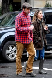 Keri Russell Street Style - Out in Brooklyn, January 2015