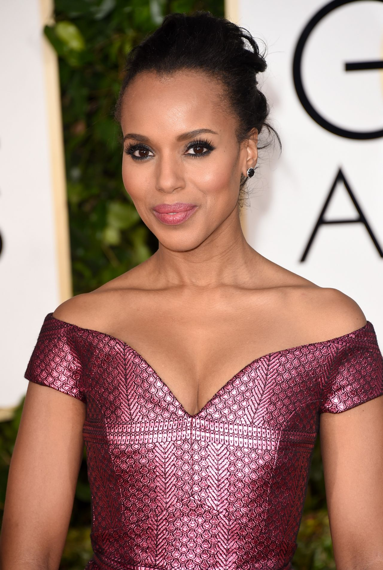 Kerry Washington – 2015 Golden Globe Awards in Beverly Hills