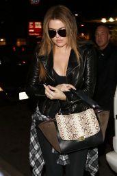 Khloe Kardashian Street Style - At Jack N