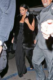 Kim Kardashian at Sam Smith Concert, January 2015