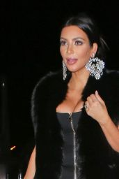 Kim Kardashian at Sam Smith Concert, January 2015