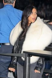 Kim Kardashian Street Style - at LAX Airport in Los Angeles, January 2015