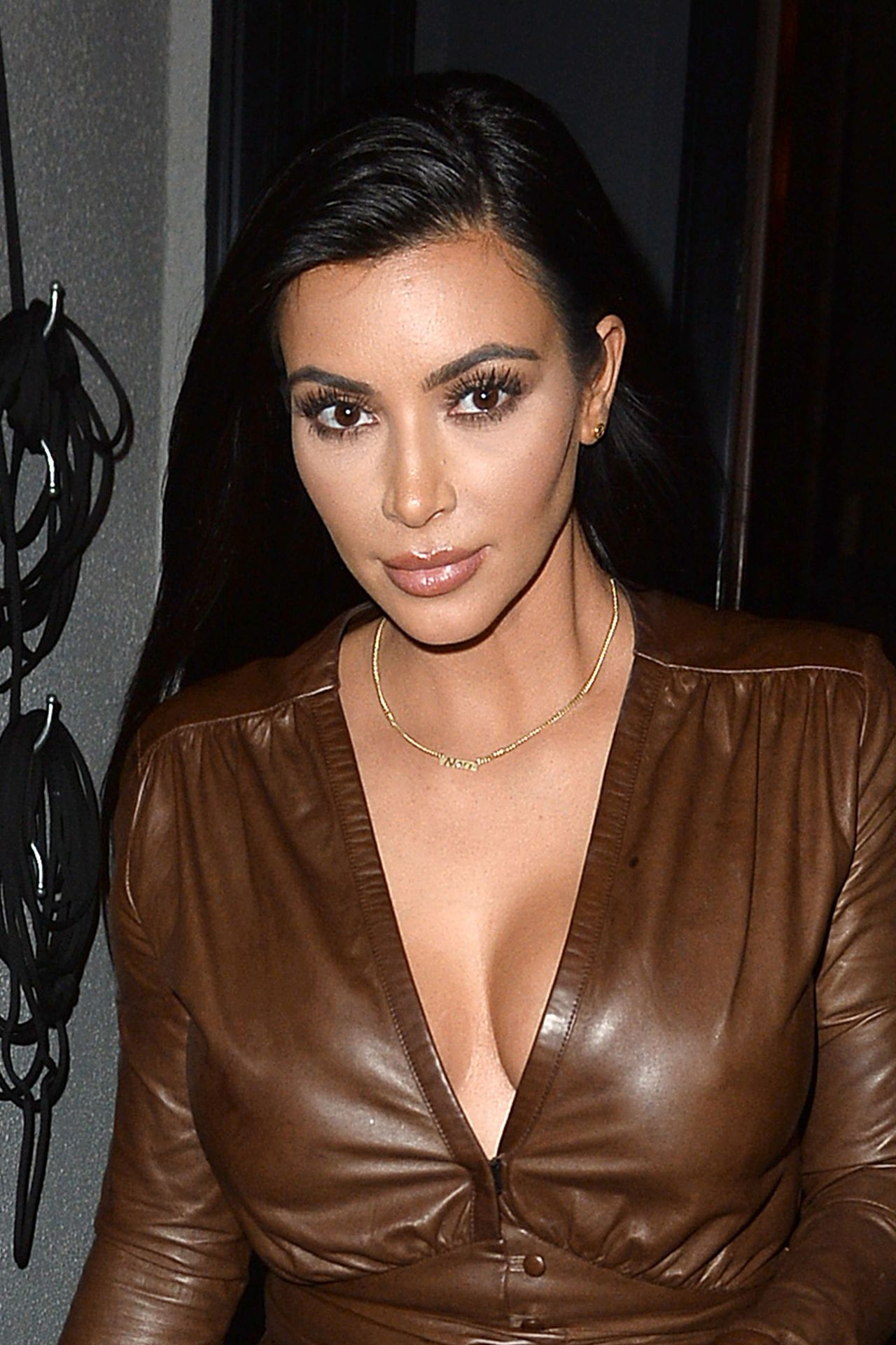 Kim Kardashian Style – Leaves Dinner at Craigs Los Angeles, January ...