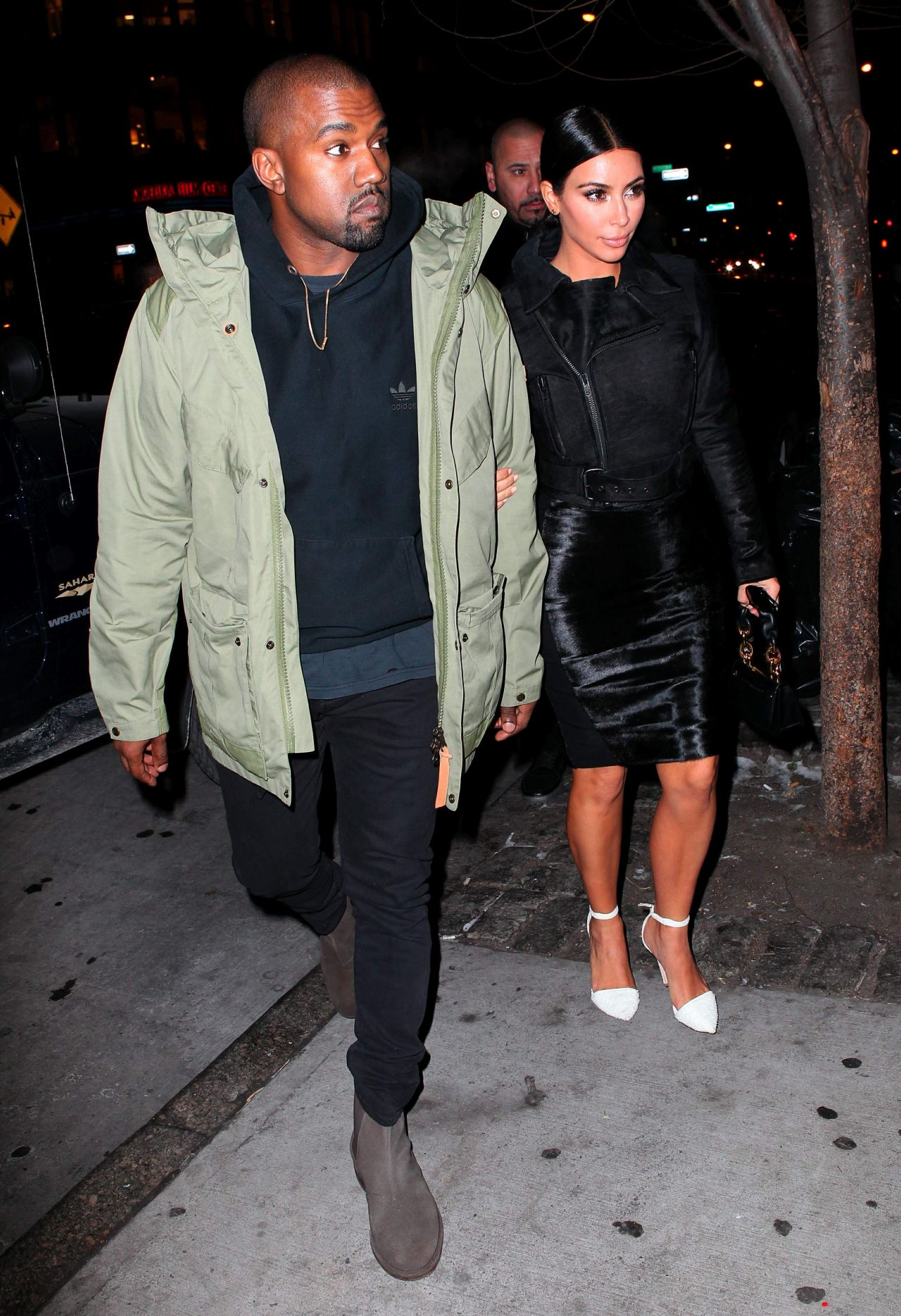 Kim Kardashian 2015 Celebrity Photos Style Out In New York City January Page 1