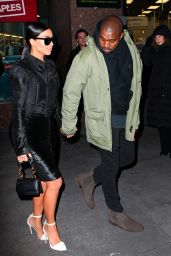 Kim Kardashian Style - Out in New York City, January 2015