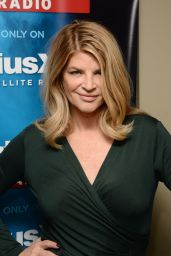Kirstie Alley - at SiriusXM Studios in New York City - January 2015