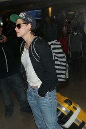 Kristen Stewart - at LAX Airport, January 2015
