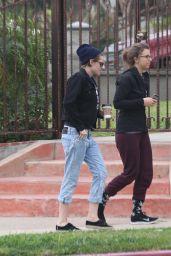 Kristen Stewart - Out in Los Feliz With a Friend - January 2015
