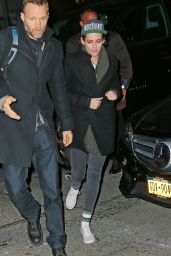 Kristen Stewart - Out With Friends in NYC - Jan 2015