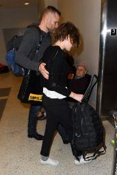 Kristen Stewart Style - at LAX Airport, January 2015