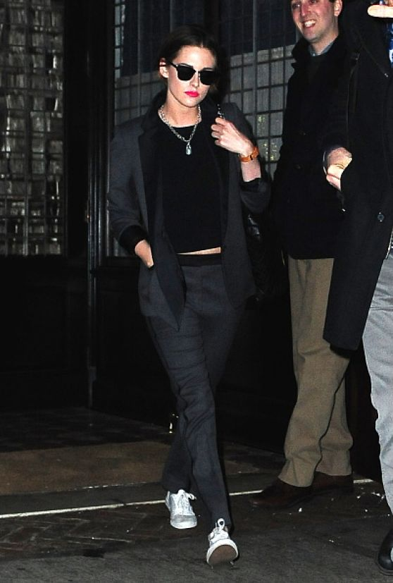 Kristen Stewart Style Leaving Her Hotel In New York City January 2015