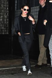 Kristen Stewart Style - Leaving Her Hotel in New York City, January 2015
