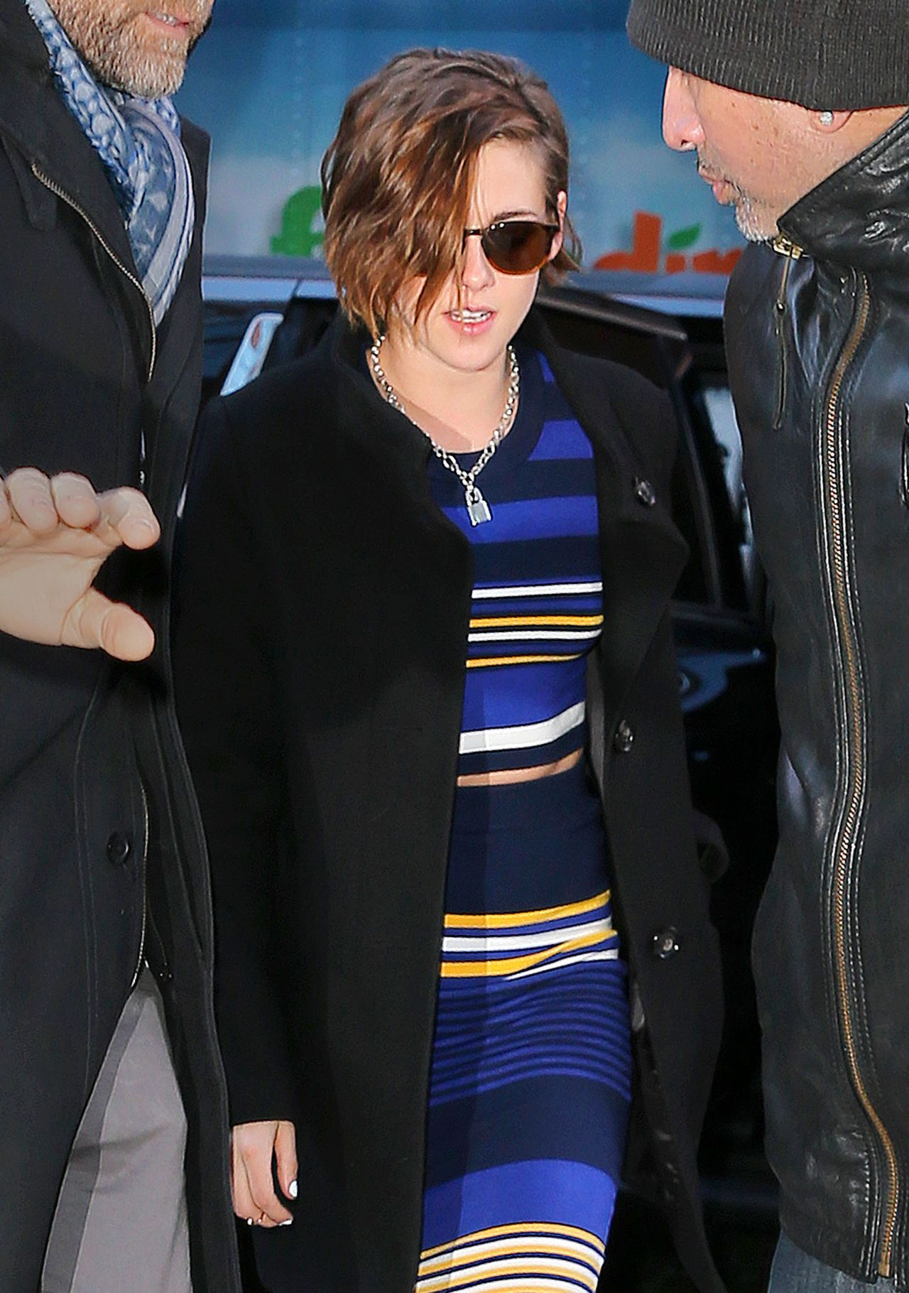Kristen Stewart Style Out In New York City January 2015
