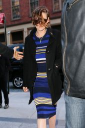 Kristen Stewart Style - Out in New York City, January 2015