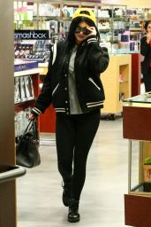 Kylie Jenner - Shops At Sephora In Calabasas - January 2015
