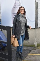 Kym Marsh - Outside the London Studios - January 2015
