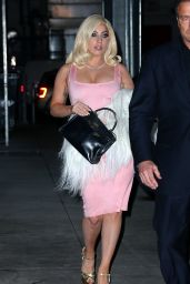 Lady Gaga - Leaving the Bachelorette Party in New York City, Jan. 2015