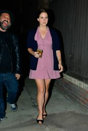 Lana Del Rey - Night Out Style - Hollywood, January 2015