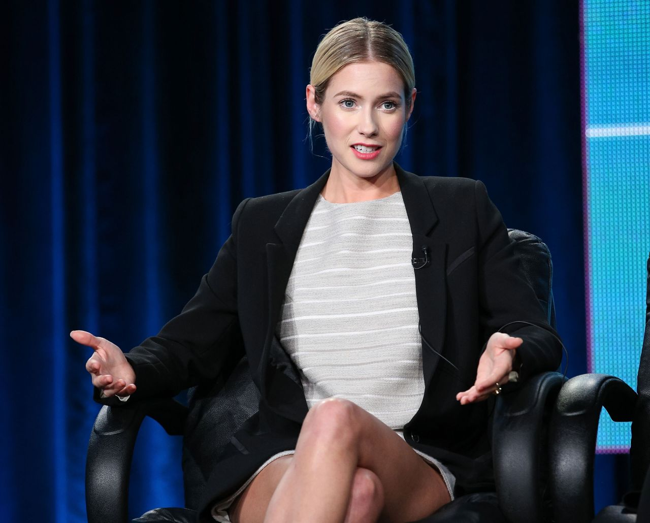 Laura Ramsey - Hindsight Panel TCA Press Tour in Pasadena - Jan 2015