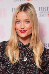Laura Whitmore - The Brit Awards 2015 Nominations Launch in London