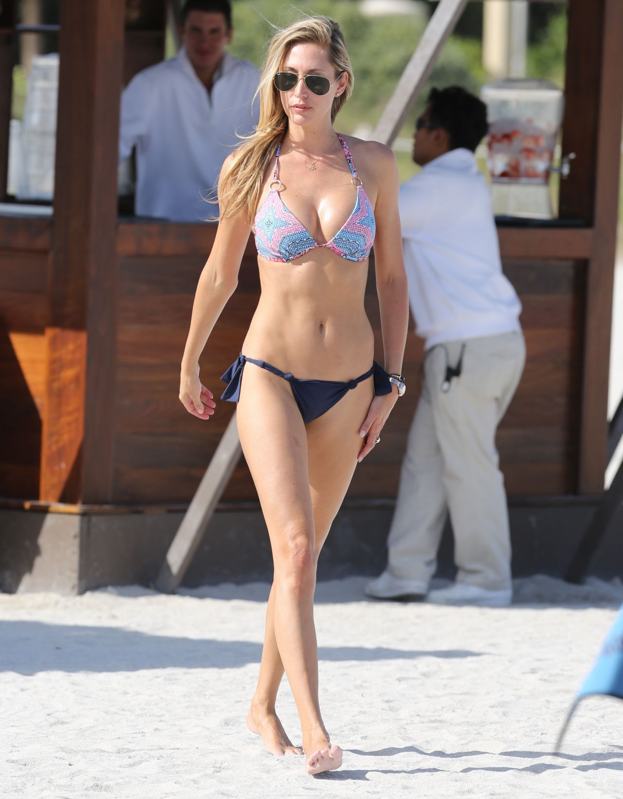 Lauren Stoner in a Bikini in Miami, January 2015