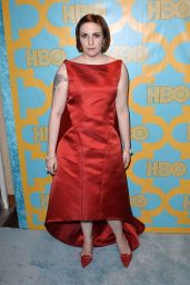 Lena Dunham - 2015 HBO Golden Globe Party