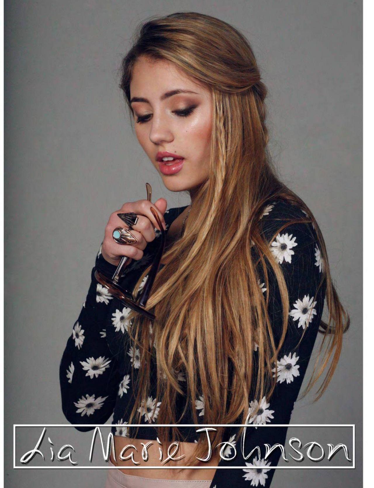 Lia Marie - 2015 Celebrity Photos - Johnson Afterglow Magazine January ...
