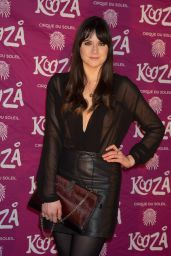 Lilah Parsons – VIP Performance of 'Kooza' by Cirque Du Soleil in London, Jan. 2015