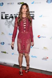 Lily Aldridge - 2015 Leather & Laces Super Bowl XLIX Party in Phoenix