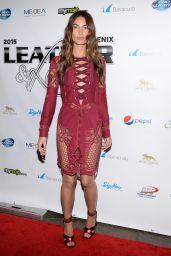 Lily Aldridge - 2015 Leather & Laces Super Bowl XLIX Party in Phoenix