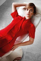 Lily James - Photoshoot for InStyle Magazine (UK) January 2015